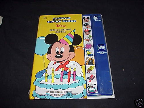 Mickey's Birthday Surprise (Sound Story Book)