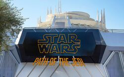 Path of the Jedi Disneyland.jpg