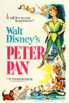 PeterPan1953OfficialTheatricalPoster