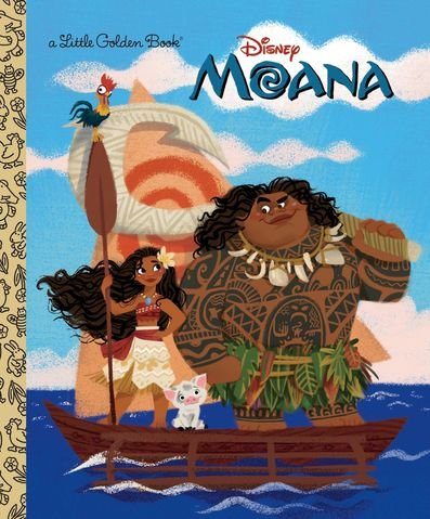 Moana (Little Golden Book)