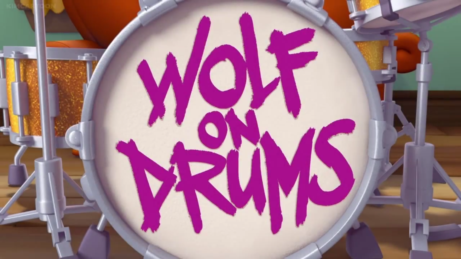 Wolf on Drums