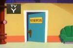 Door of the rehearsal room (HOM)