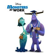 Monsters at Work D23 Expo