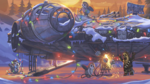Falcon - The LEGO Star Wars Holiday Special Concept Art