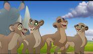 Vitani's Lion Guard members