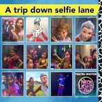 A trip down selfie lane