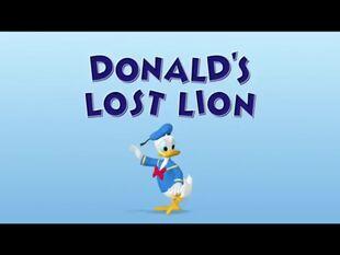 Donald's Lost Lion