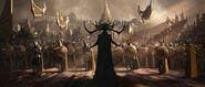 Thor Rangnarok - Concept Art - Hela
