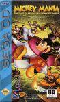 Mickey Mania - Sega CD Cover