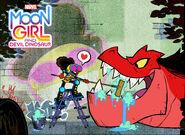 Moon Girl and Devil Dinosaur promo