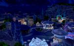 The Sims 4 Star Wars Journey to Batuu - Batuu at night
