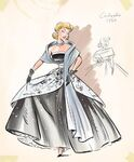 Cinderella Disney designer