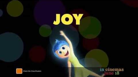 "Inside Out - Australian TV Spot ""Meet Joy"""
