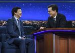 Ken Jeong visits Stephen Colbert