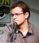 Matt Damon SDCC