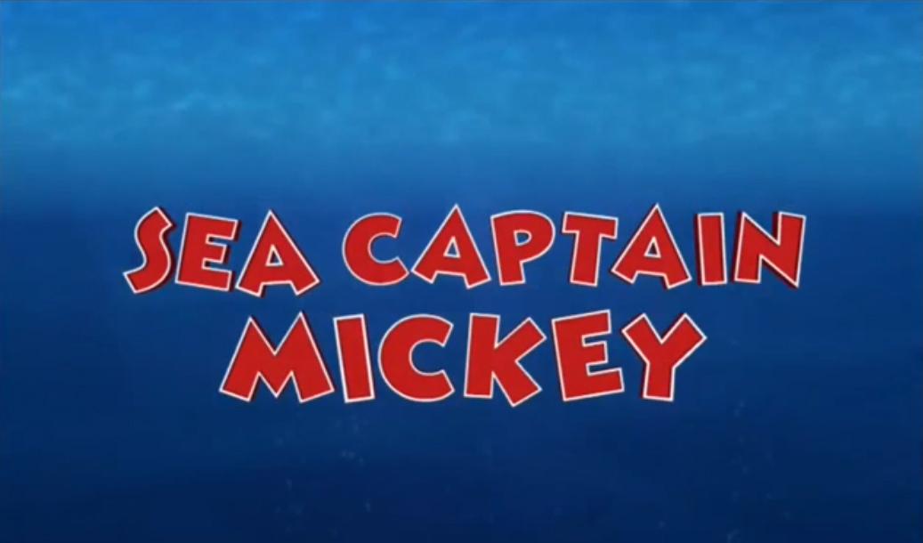 Sea Captain Mickey