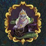 Disney Villain Portraits Ursula