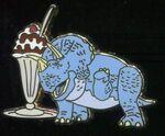 Trixie Ice Cream Pin