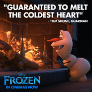 Frozen Guaranteed To Melt The Coldest Heart Poster