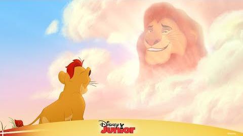 Løvernes garde synger Hvem skal jeg lytte til - Disney Junior Danmark