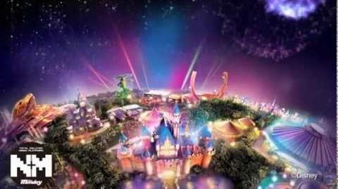 Parade Disney Paint the Night Tests - Hong Kong Disneyland