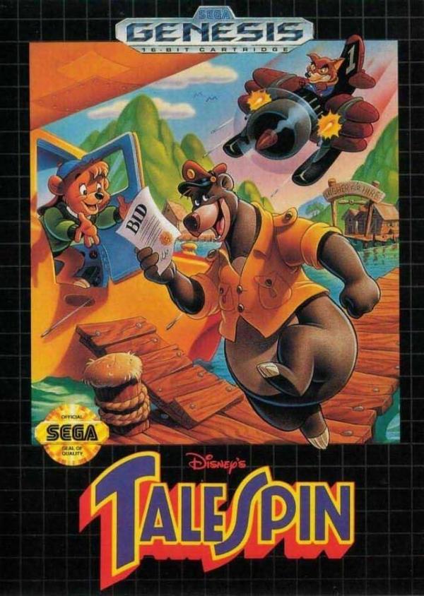 TaleSpin (Genesis video game)