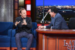Bob Odenkirk visits Stephen Colbert