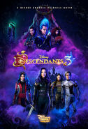 Descendants 3, poster