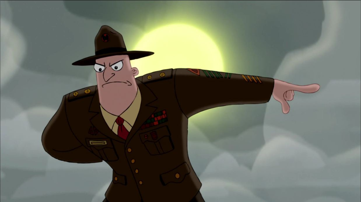 Drill Sergeant (Phineas and Ferb)