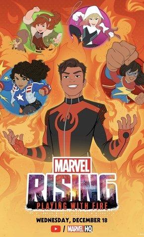 Marvel Rising: Brincando com Fogo