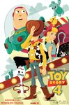 Toy Story 4 Dolby Cinema poster
