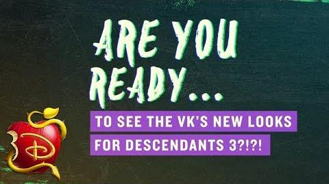 D3 Deet New VK Style! 😍 Descendants 3