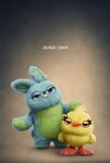 Toy Story 4 Ducky and Bunny teaser poster