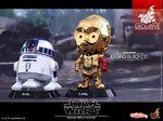 Cosbaby Bobble-Heads R2-D2 C-3PO