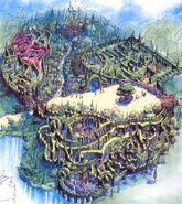 Quest for the Unicorn Maze Concept