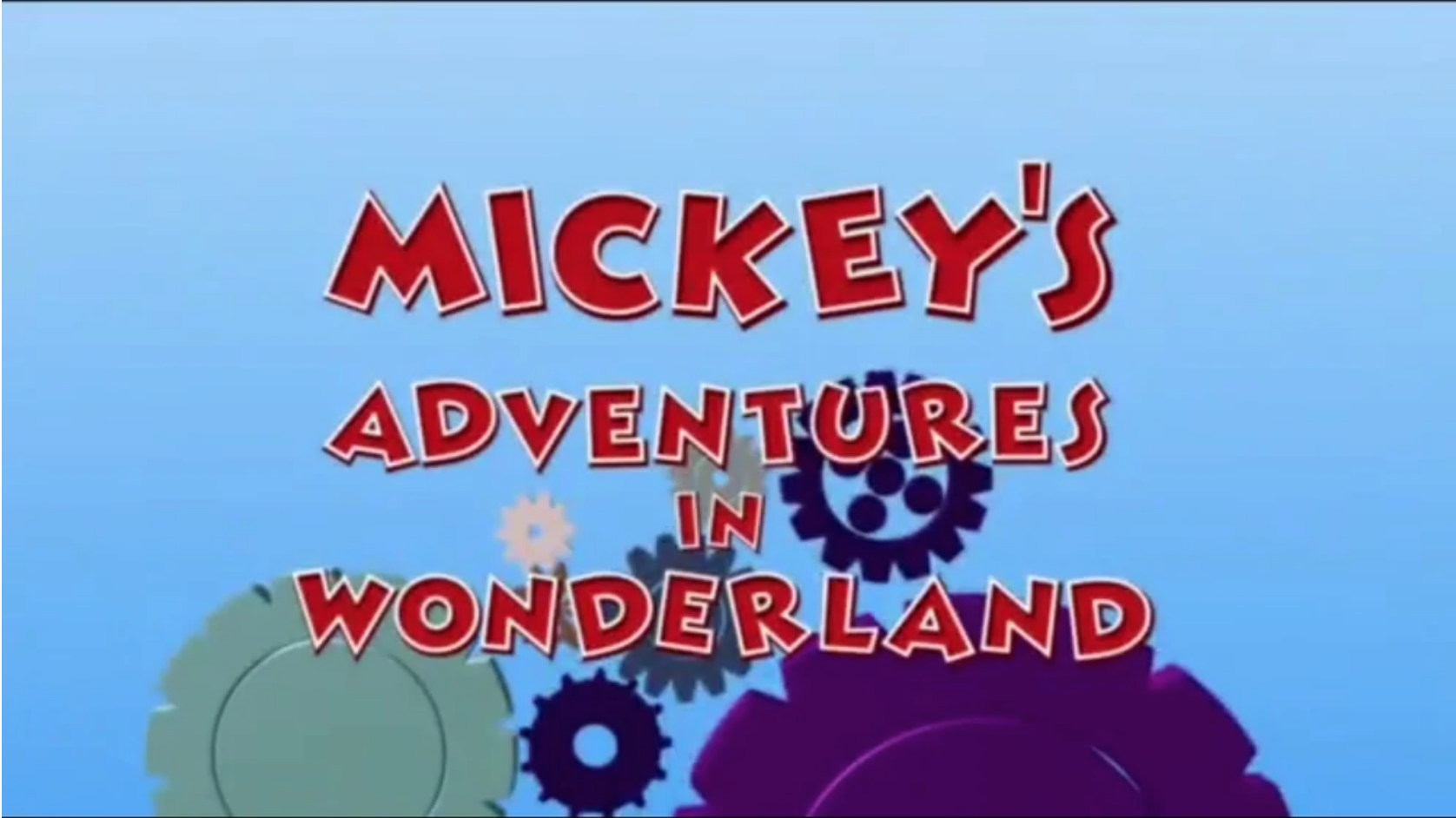 Mickey's Adventures in Wonderland