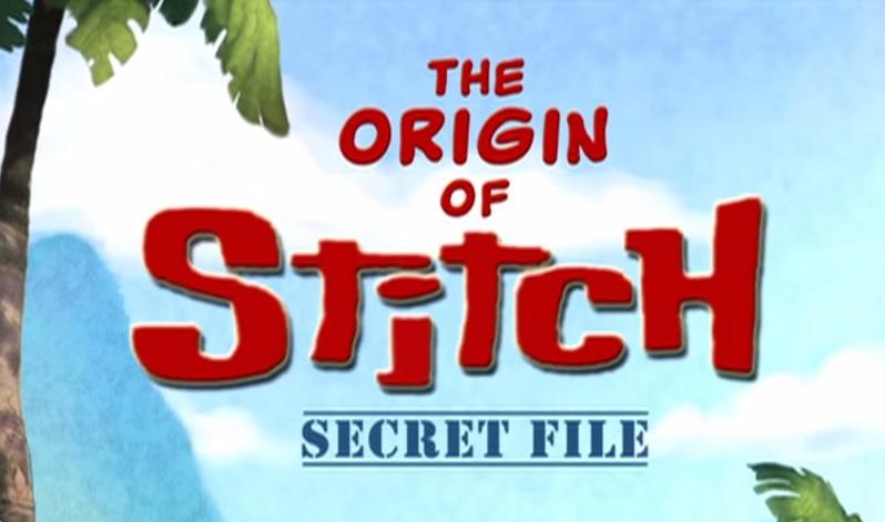 A Origem do Stitch