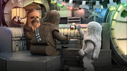 Wookies and porgs - The LEGO Star Wars Holiday Special
