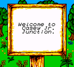 Mickey's Racing Adventure Casey Junior Junction Sign