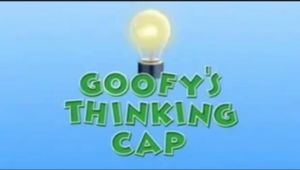 Goofy's Thinking Cap