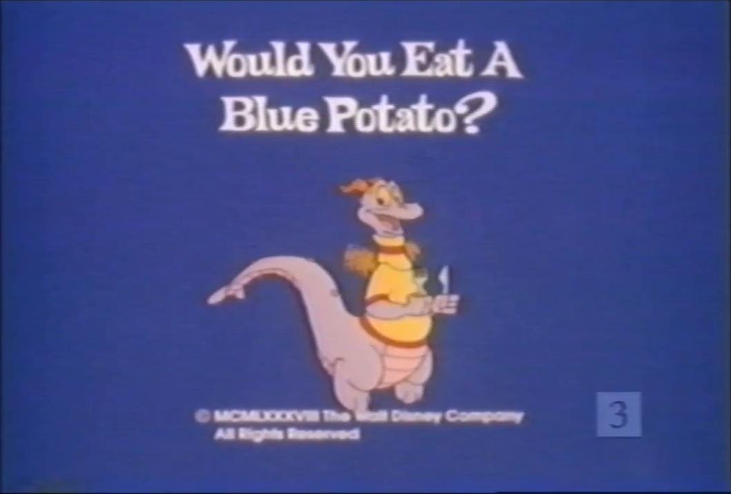 Would You Eat a Blue Potato?