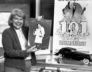 Betty Lou Gerson and Cruella