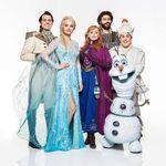 Frozen London cast