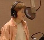 Haley Joel Osment behind the scenes JB2