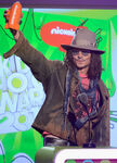 Johnny Depp Nickelodeon 26th Annual Kids Choice