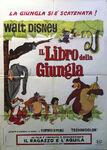 Jungle book italian poster original