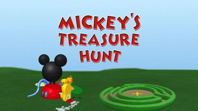 A Caça ao Tesouro do Mickey