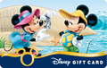 Minnie taking pictue of Mickey Disney Gift Card