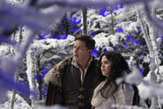 Once Upon a Time - 3x19 - A Curious Thing - Production - Snow and Charming 2