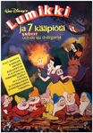 Snow white finnish poster 1980s